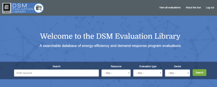 DSM Evaluation Library screenshot