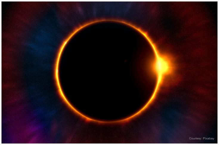 Image of a total eclipse