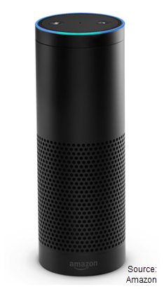 Image of the Amazon Echo
