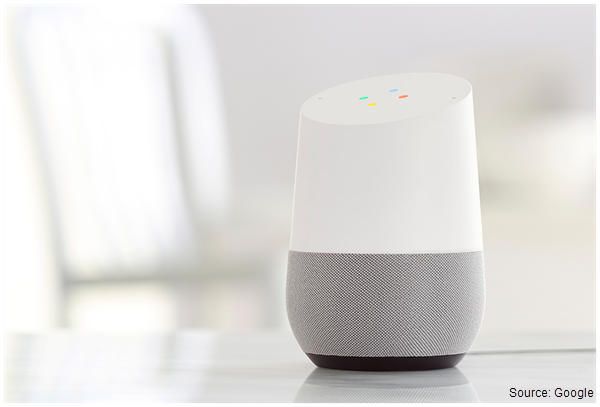 Image of the Google Home