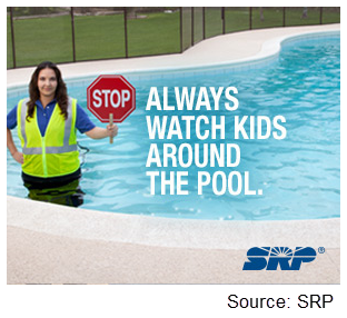 SRP water safety banner ad 3