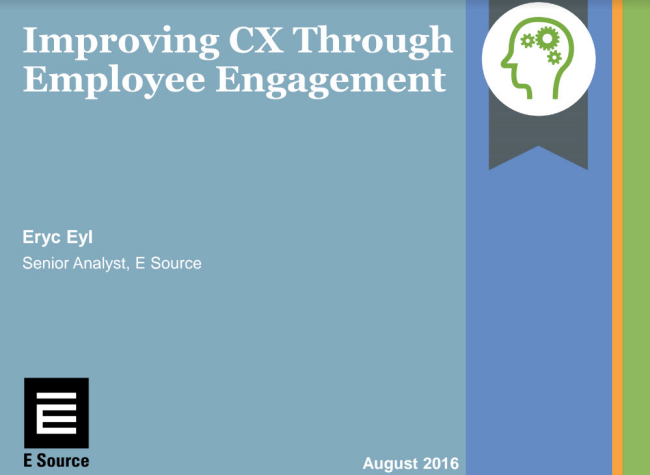 This is a thumbnail of the cover of an ebook about employee engagement