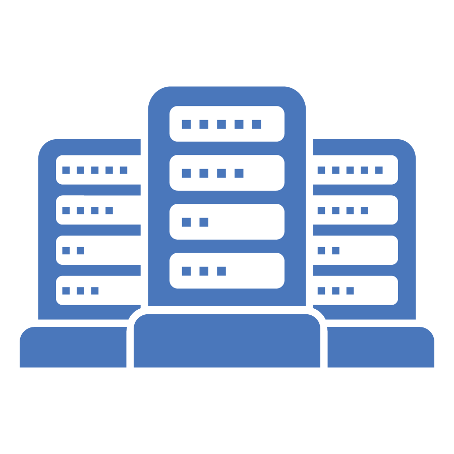Data center icon