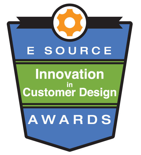 E Source Innovation in Customer Design Awards logo