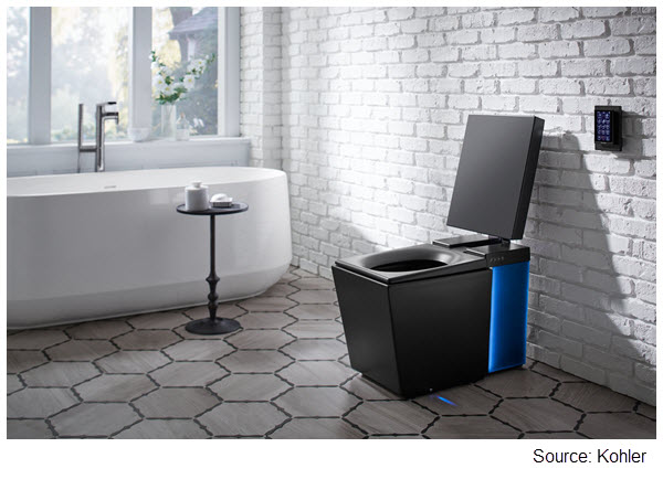 Photo of Kohler Numi intelligent toilet