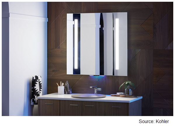 Photo of Kohler Verdera Voice Lighted Mirror